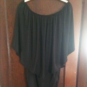 Off Shoulder/Strapless Mini Bodycon Dress